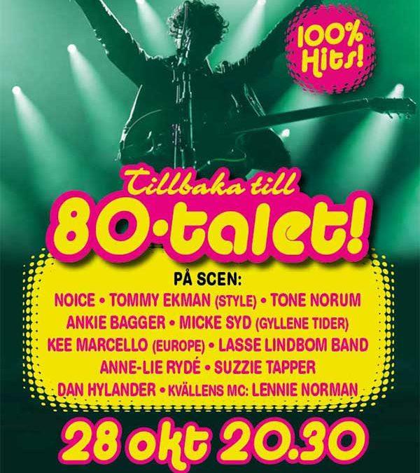 frontface magazine berättar om 80talets konsert